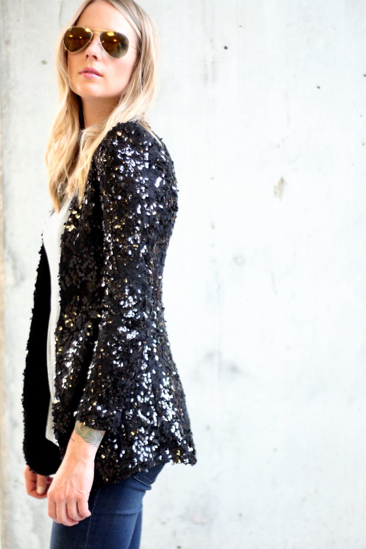 Black Denim Jacket Fashion