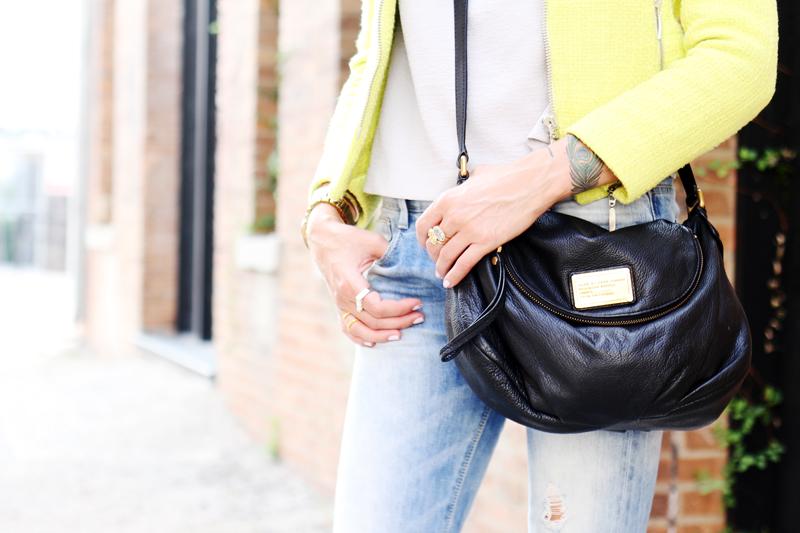 black crossbody marc jacobs bag