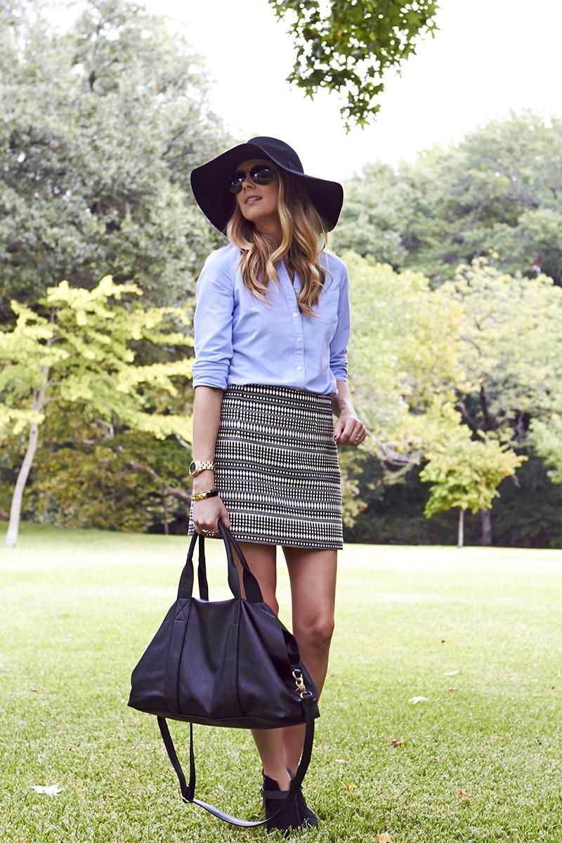 Jacquard Mini Skirt Fashion Jackson