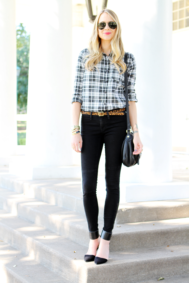Black And White Checkered Fashion Collections
