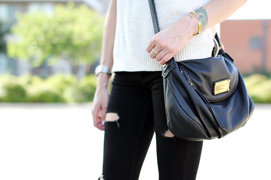 black marc jacobs crossbody