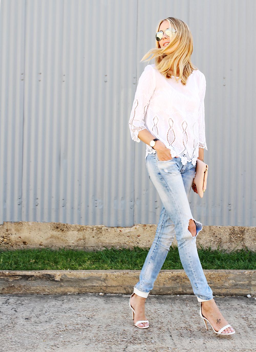 7b46a0ff4f9 banana-republic-white-lace-top-zara-ripped-jeans- ...