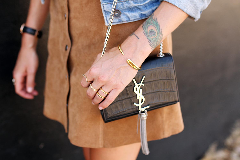 fashion-jackson-denim-jacket-topshop-suede-mini-skirt-ysl-crossbody