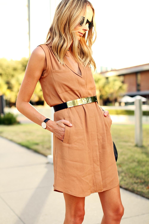 fashion-jackson-greylin-stuart-releaxed-shirt-dress-gold-metal-belt