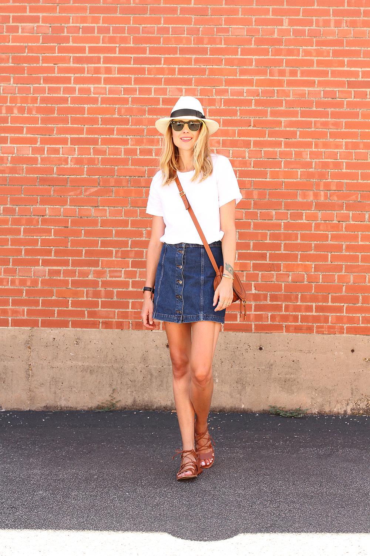Topshop Denim Skirt Fashion Jackson