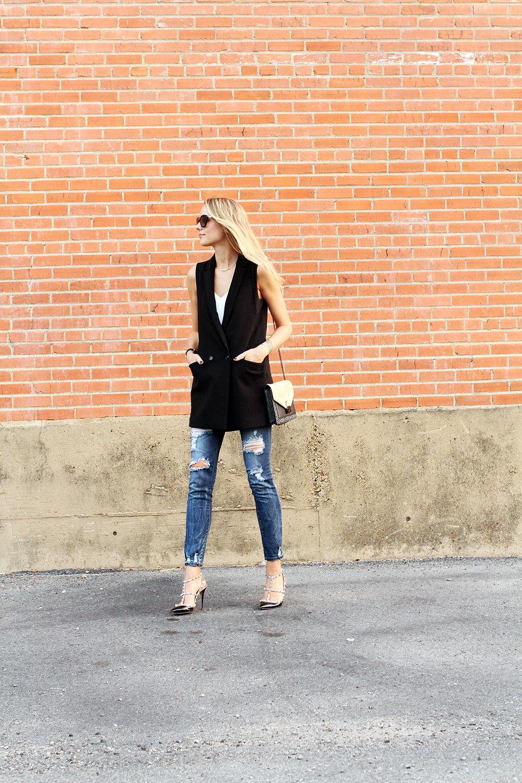 fashion-jackson-black-long-line-vest-ripped-skinny-jeans-valentino-rockstuds