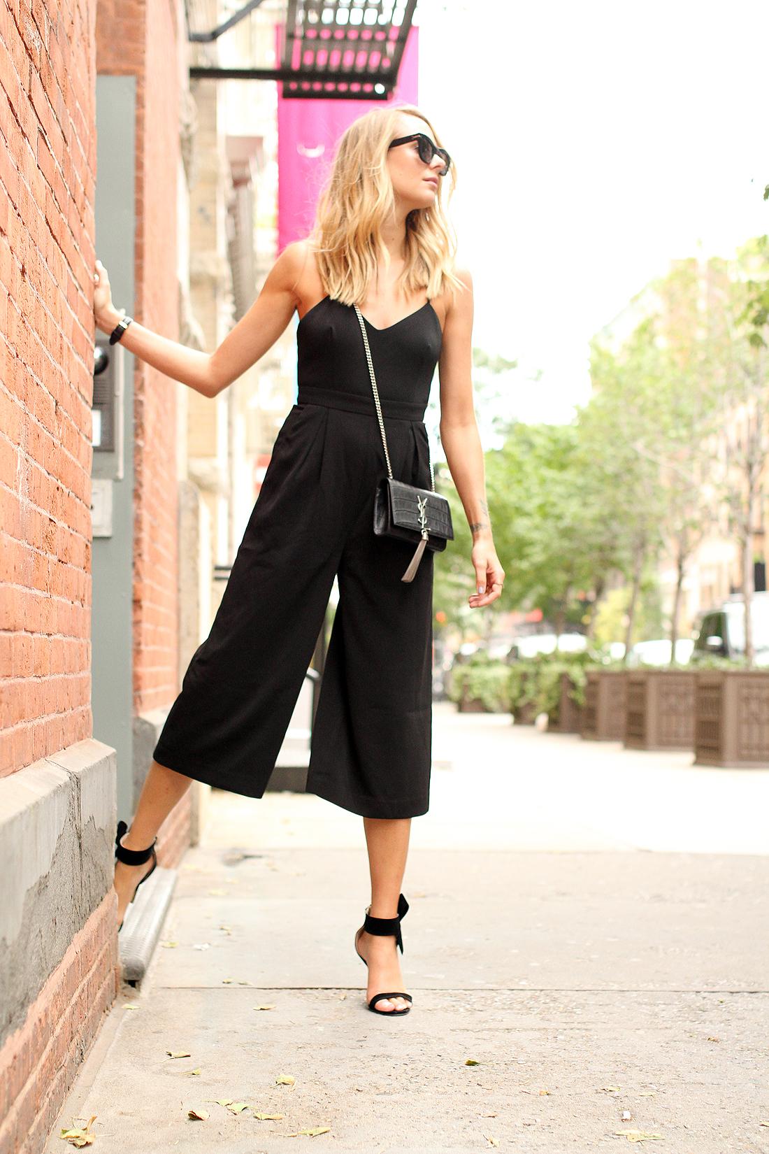 fashion-jackson-celine-black-sunglasses-cameo-power-trip-jumpsuit-saint-laurent-cassandre-crossbody-handbag-black-bow-heels-street-style-nyfw