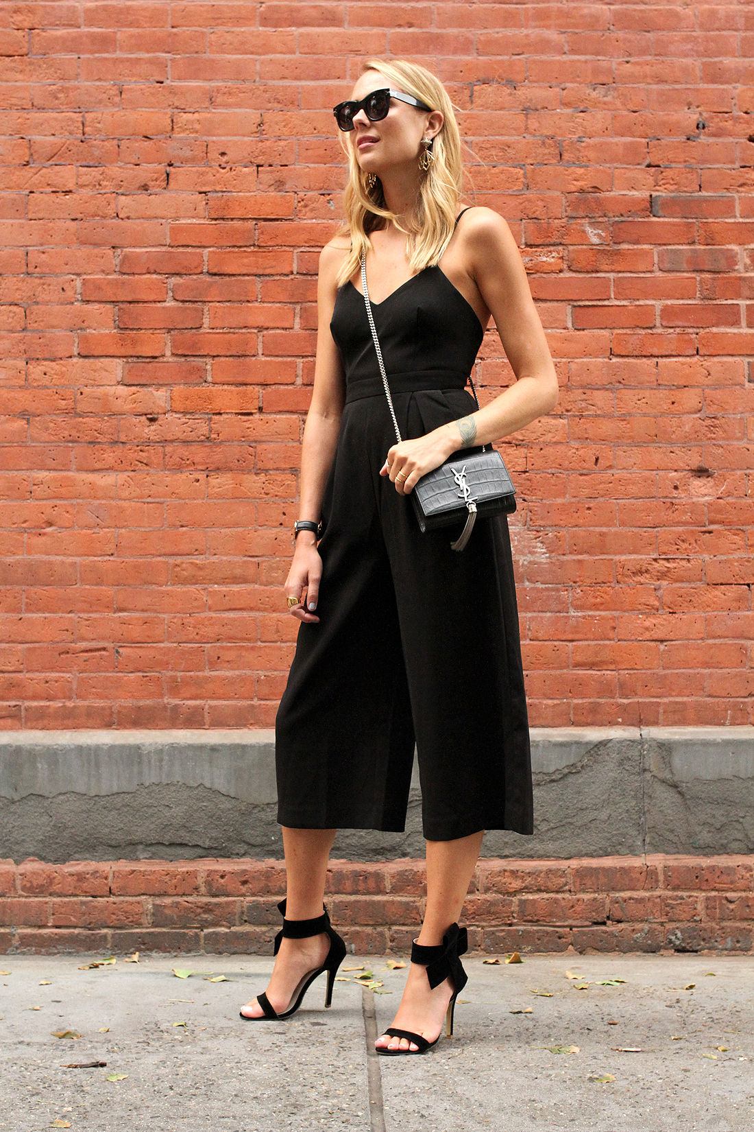 fashion-jackson-cameo-power-trip-jumpsuit-celine-black-sunglasses-saint-laurent-cassandre-crossbody-handbag-black-bow-heels-nyfw-street-style
