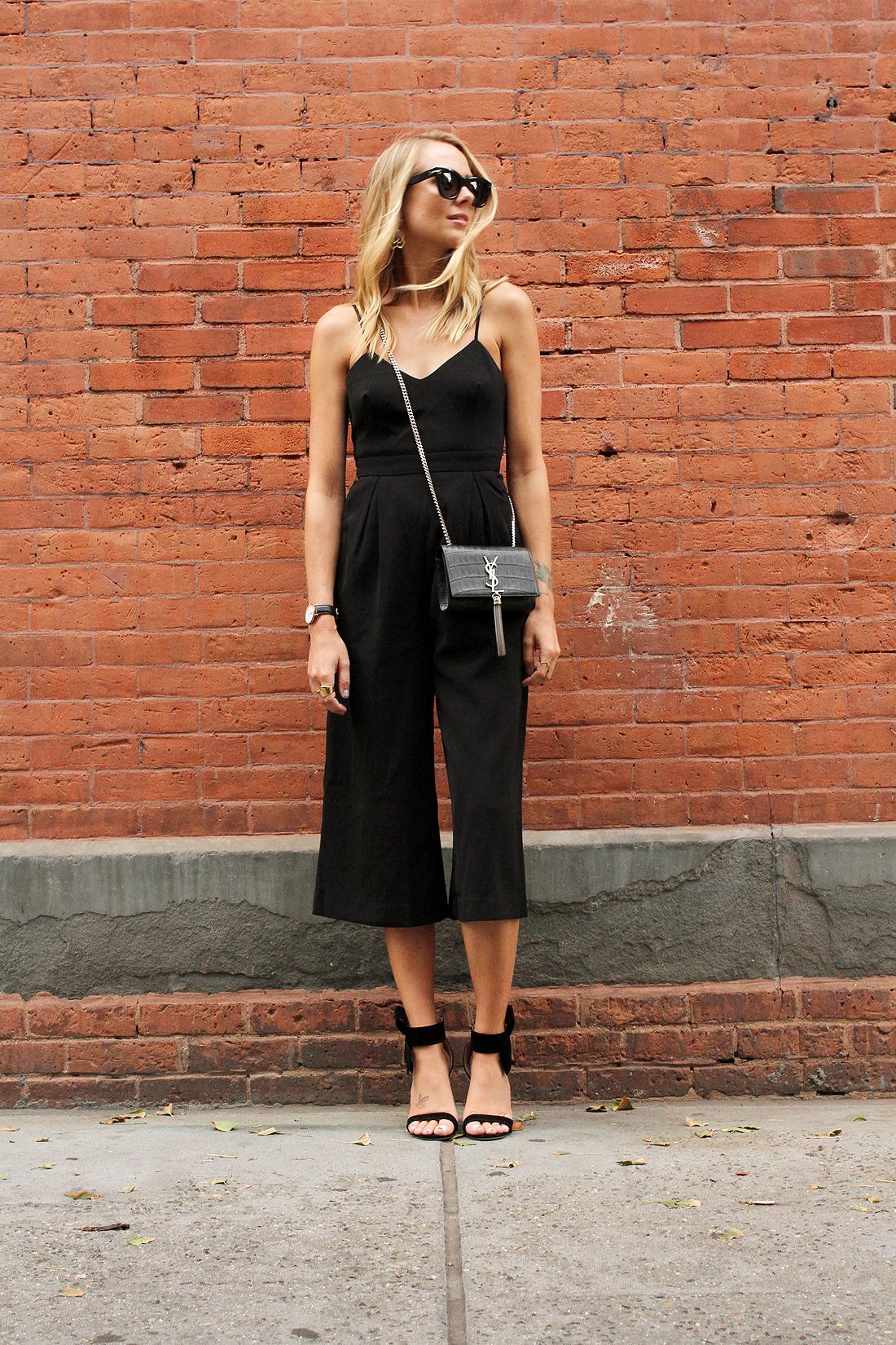 fashion-jackson-cameo-power-trip-jumpsuit-saint-laurent-cassandre-crossbody-handbag-black-bow-heels-black-celine-sunglasses-street-style-nyfw