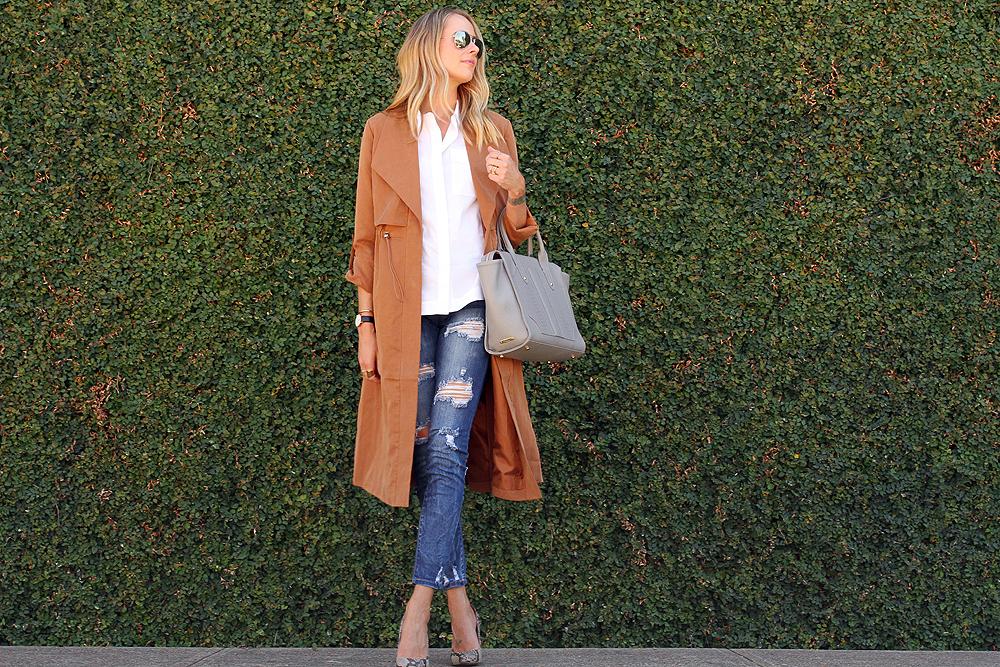 fashion-jackson-french-connection-runaway-drape-maxi-coat-ripped-skinny-jeans-white-button-up-shirt-gigi-new-york-gates-satchel
