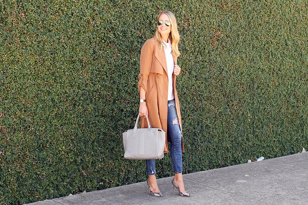fashion-jackson-french-connection-runaway-drape-maxi-coat-ripped-skinny-jeans-white-button-up-shirt-gigi-new-york-slate-gates-satchel