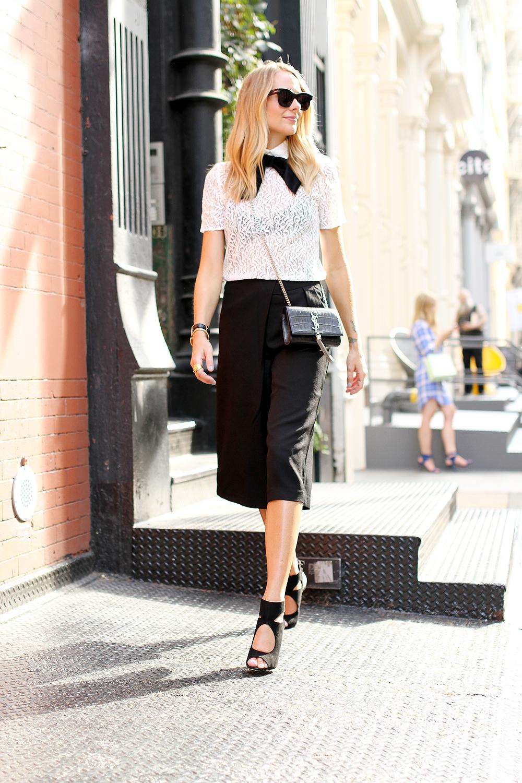 fashion-jackson-the-kooples-lace-top-cameo-the-label-culottes-black-aquazzura-sexy-thing-heels-similar-celine-black-sunglasses-ysl-crossbody