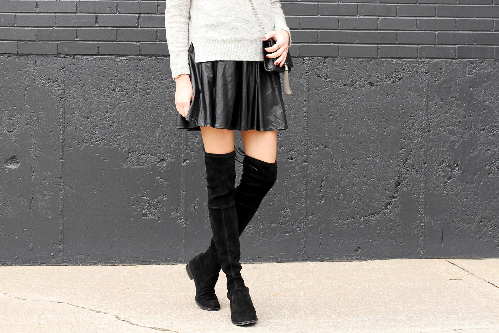 fashion-jackson-grey-sweater-black-pleated-skirt-black-otk-boots