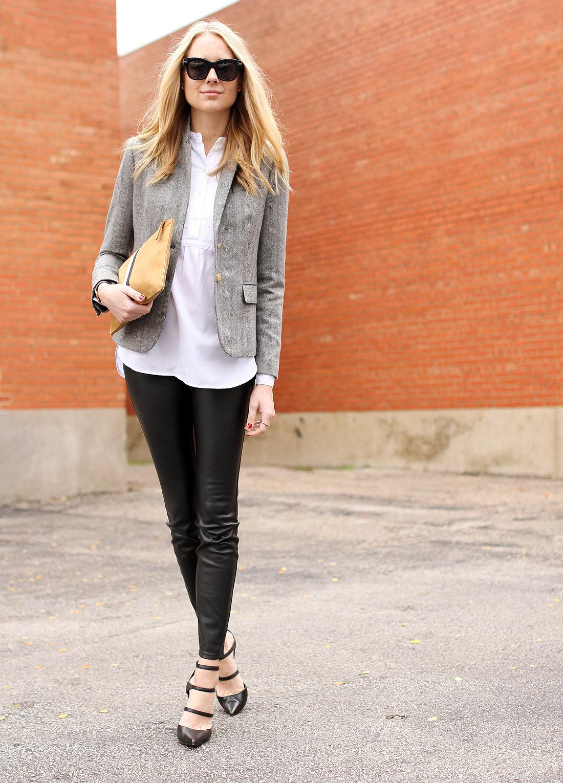 fashion-jackson-herringbone-blazer-black-faux-leather-pants