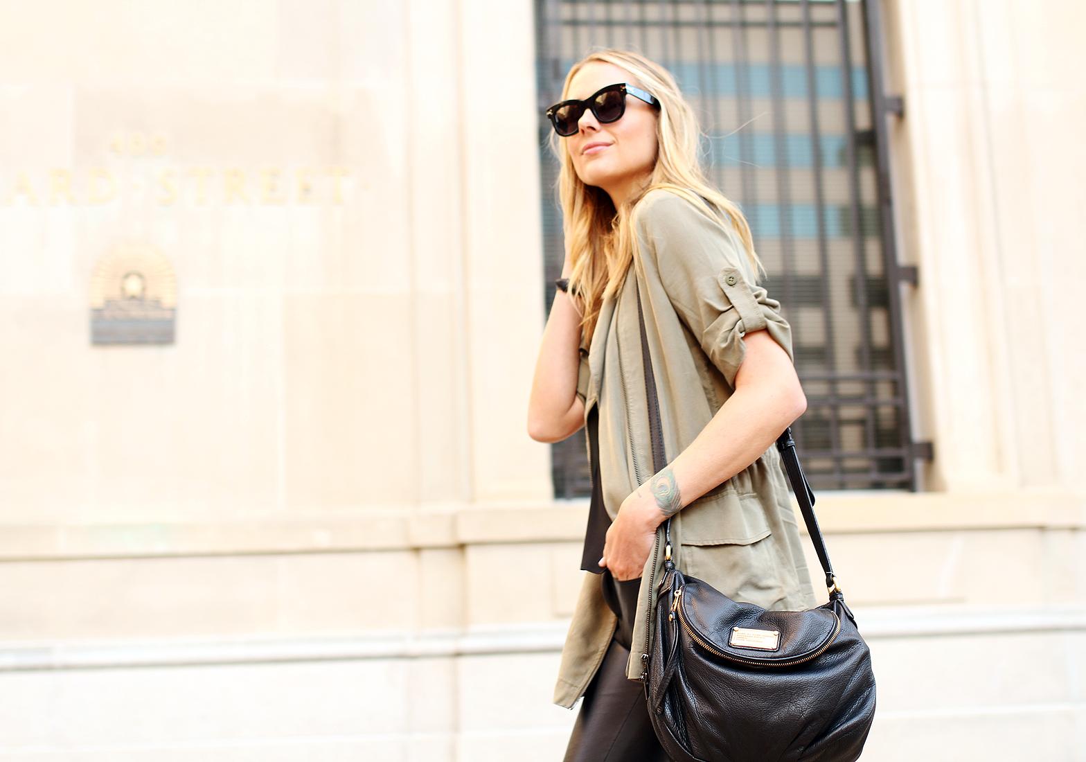 fashion-jackson-banana-republic-drapey-drawstring-jacket-black-celine-sunglasses