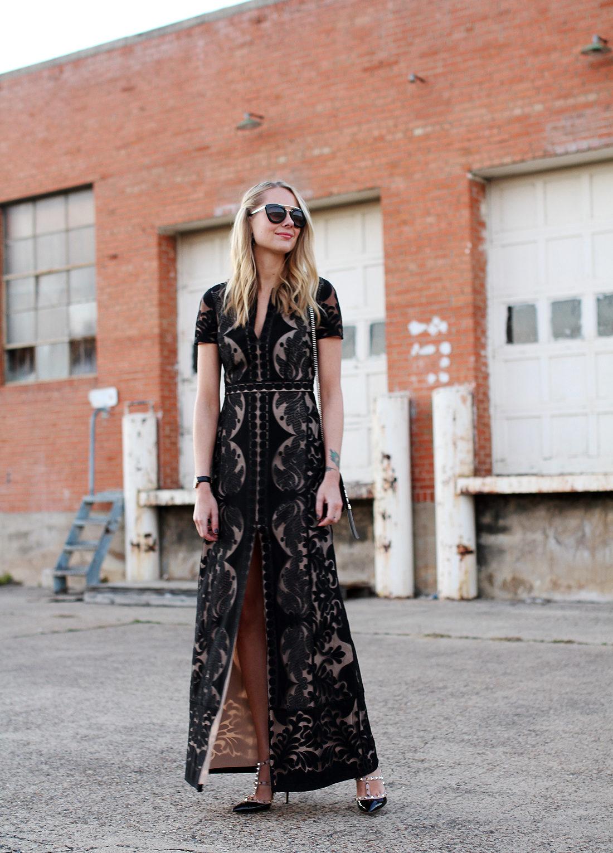 fashion-jackson-bcbgmaxazria-cailean-lace-dress-black-prada-retro-sunglasses