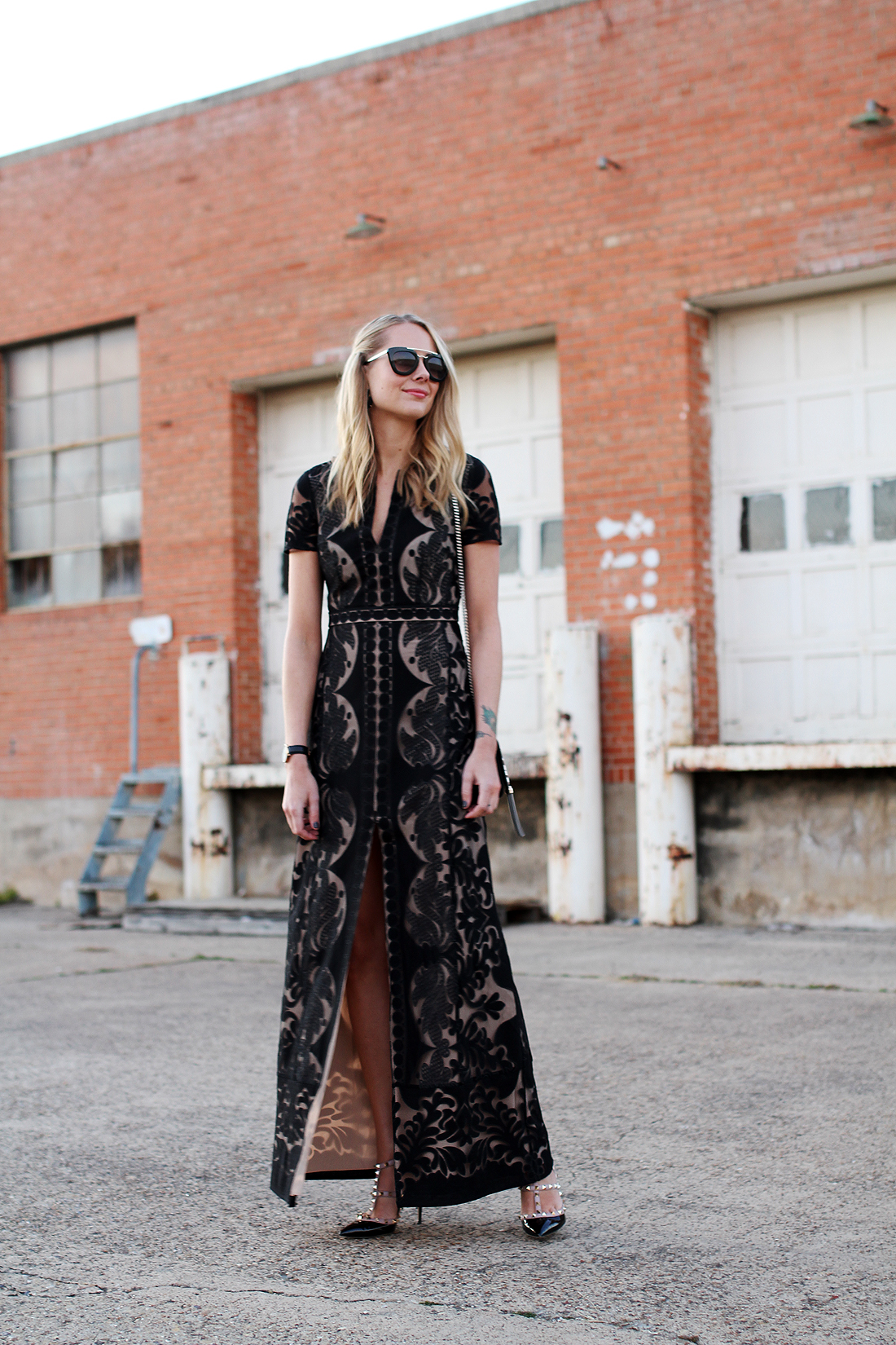 BCBGMAXAZRIA LACE GOWN | Fashion Jackson
