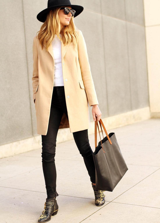 fashion-jackson-black-hat-asos-camel-coat-chloe-susanna-booties-madewell-transport-tote