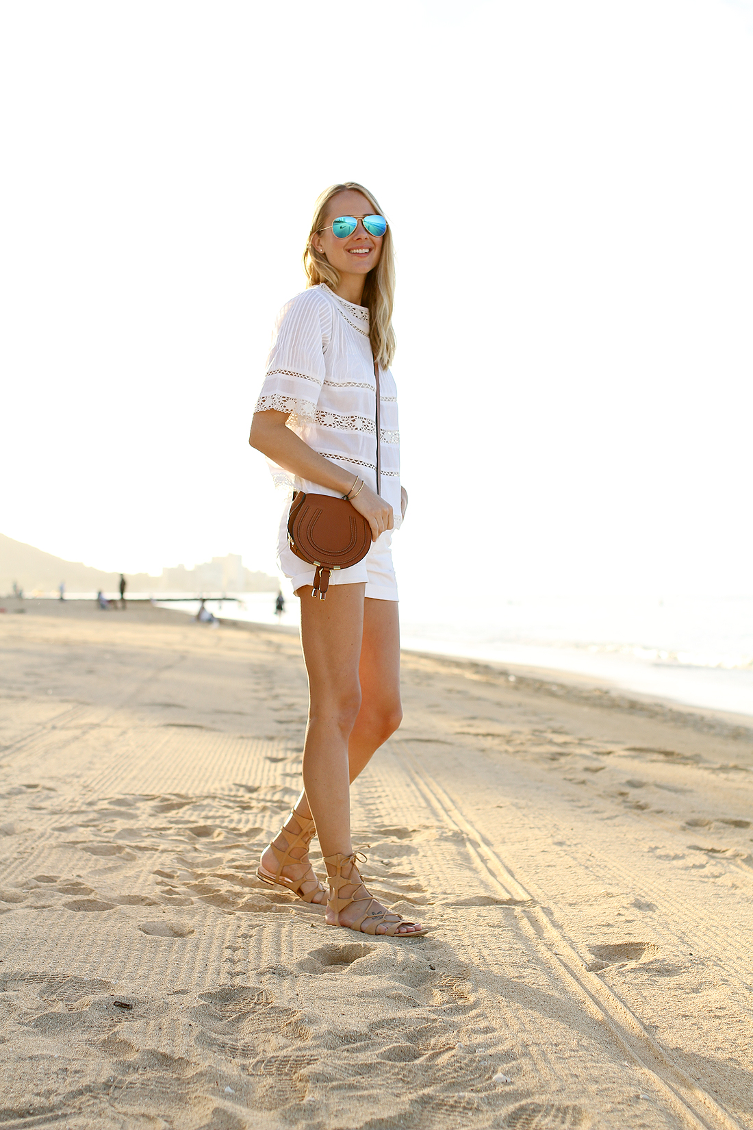 fashion-jackson-blue-ray-ban-sunglasses-white-lace-top-chloe-marcie-crossbody