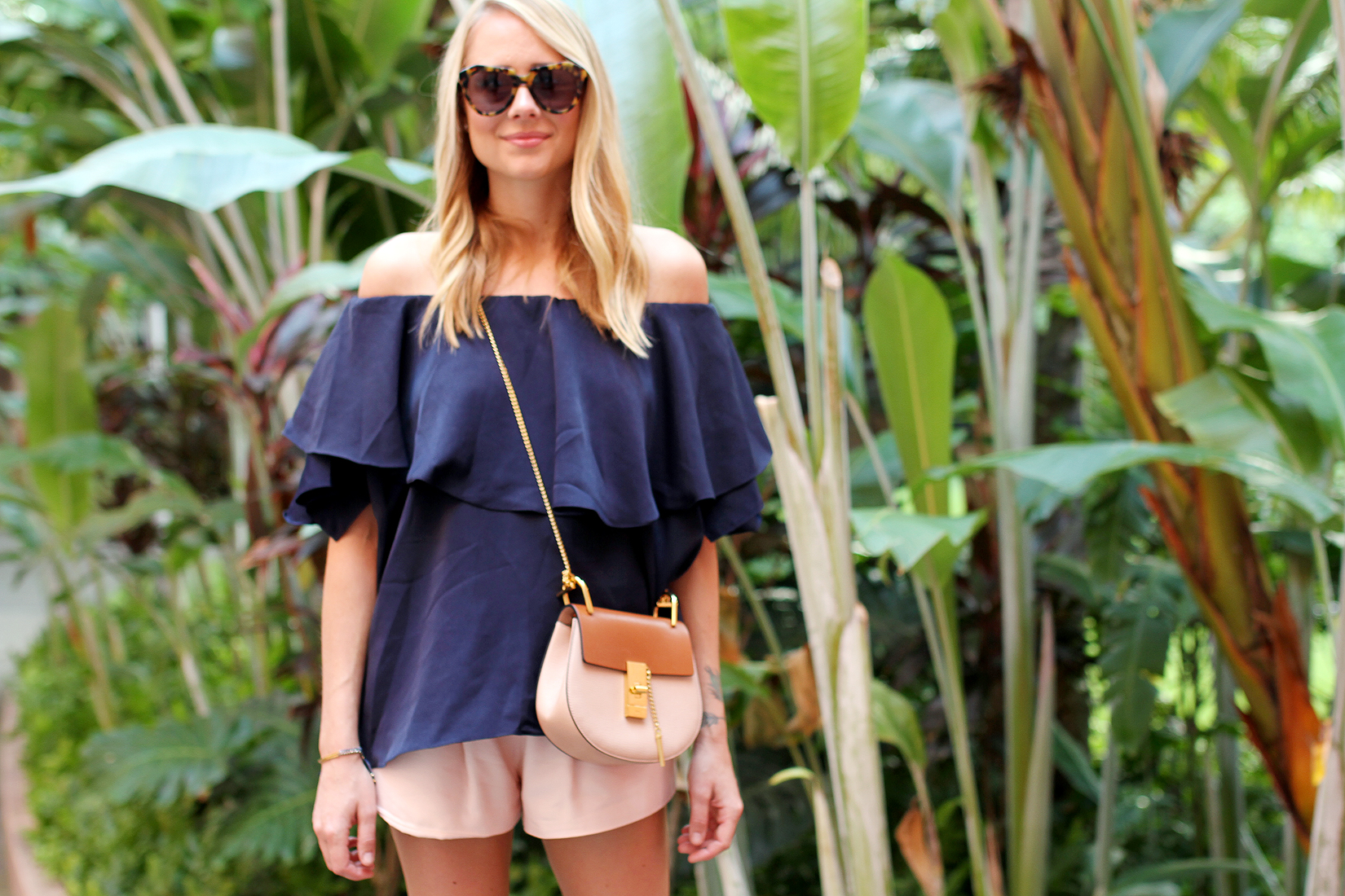 fashion-jackson-chloe-drew-handbag-mlm-label-maison-off-the-shoulder-top