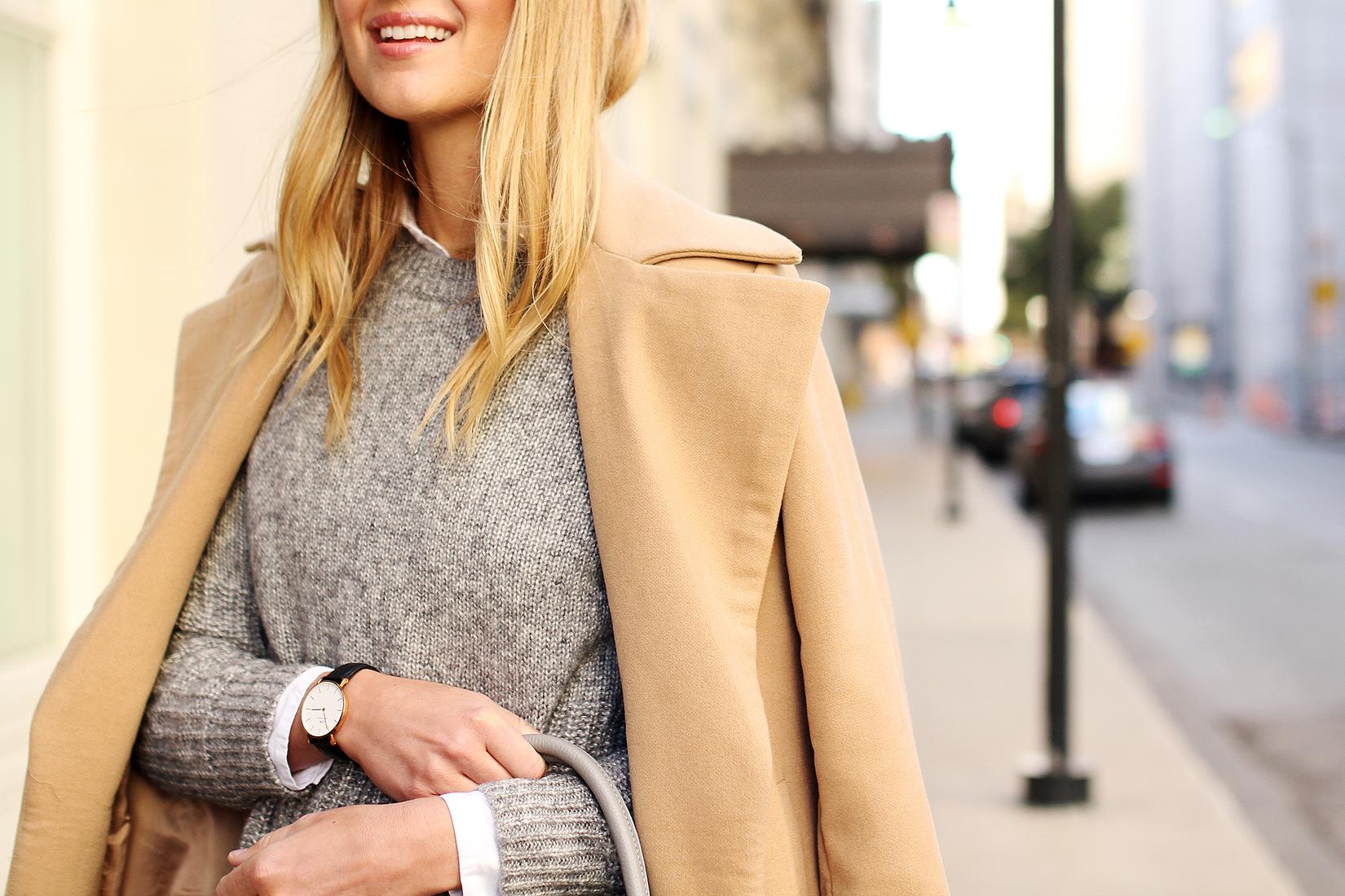 fashion-jackson-daniel-wellington-watch-grey-sweater-camel-coat