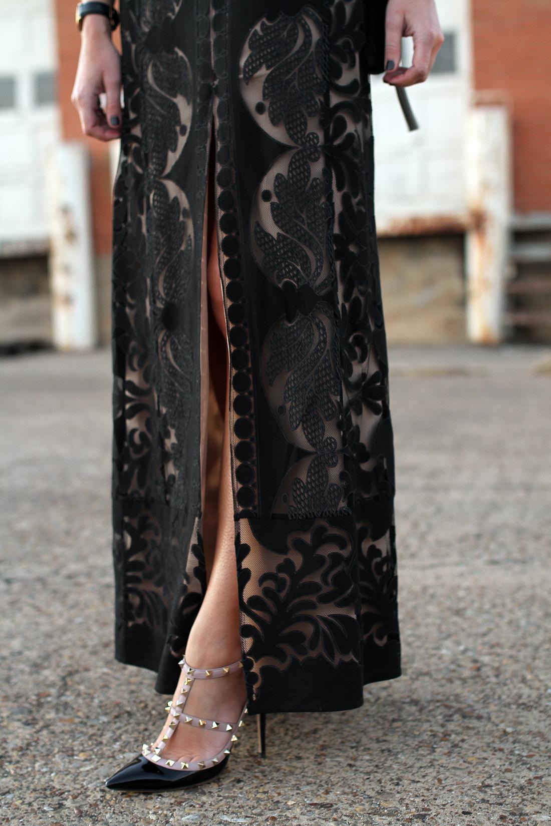BCBGMAXAZRIA LACE GOWN | Fashion Jackson
