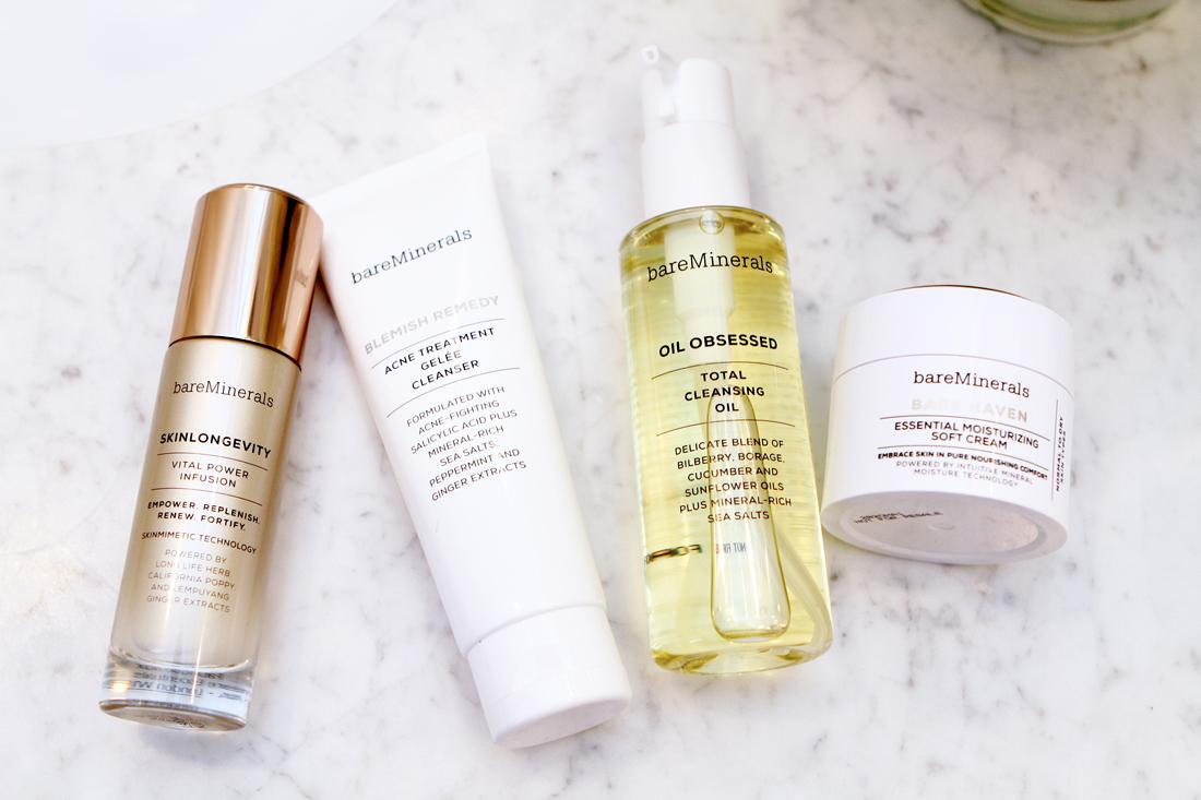 fashion-jackson-bareminerals-skinlongevity-blemish-remedy-cleanser-oil-obsessed-cleanser-bare-haven-moisturizer