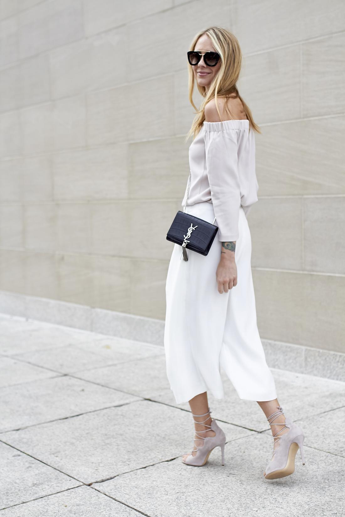 fashion-jackson-prada-retro-sunglasses-off-the-shoulder-top-white-culottes-saint-laurent-monogram-crossbody-mgemi-marea-lace-up-heels