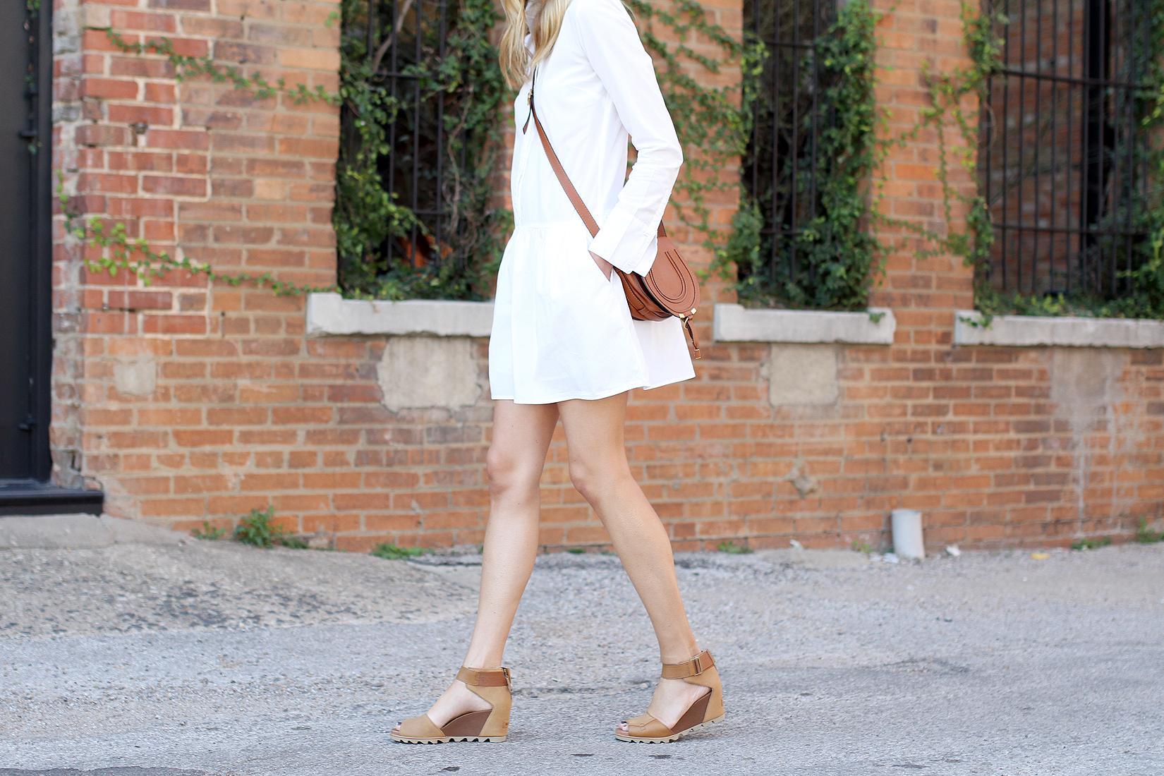 fashion-jackson-sorel-joanine-sandals-chloe-marcie-tan-crossbody-splendid-damsel-white-shirtdress