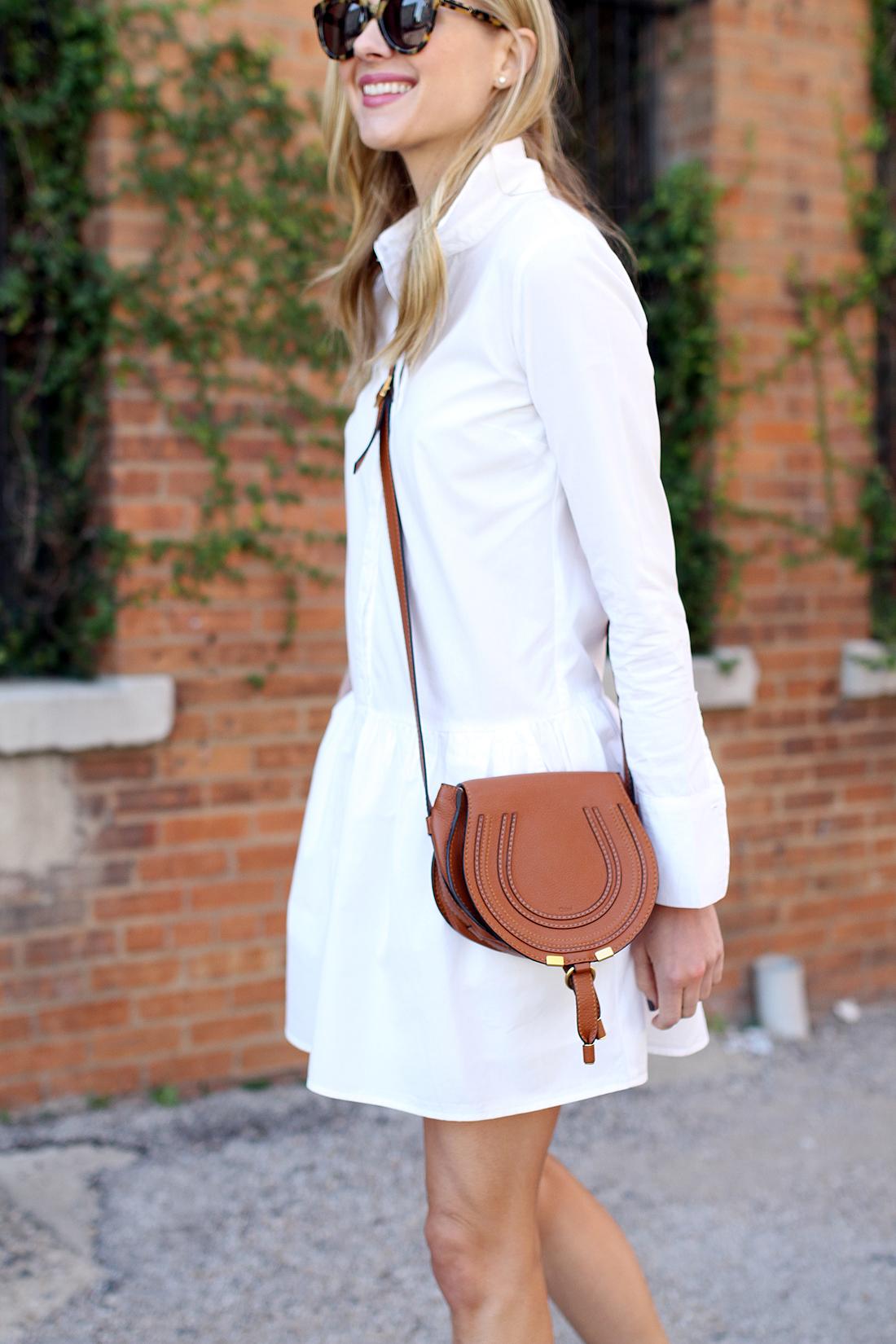 LITTLE WHITE SHIRT DRESS | Fashion Jackson