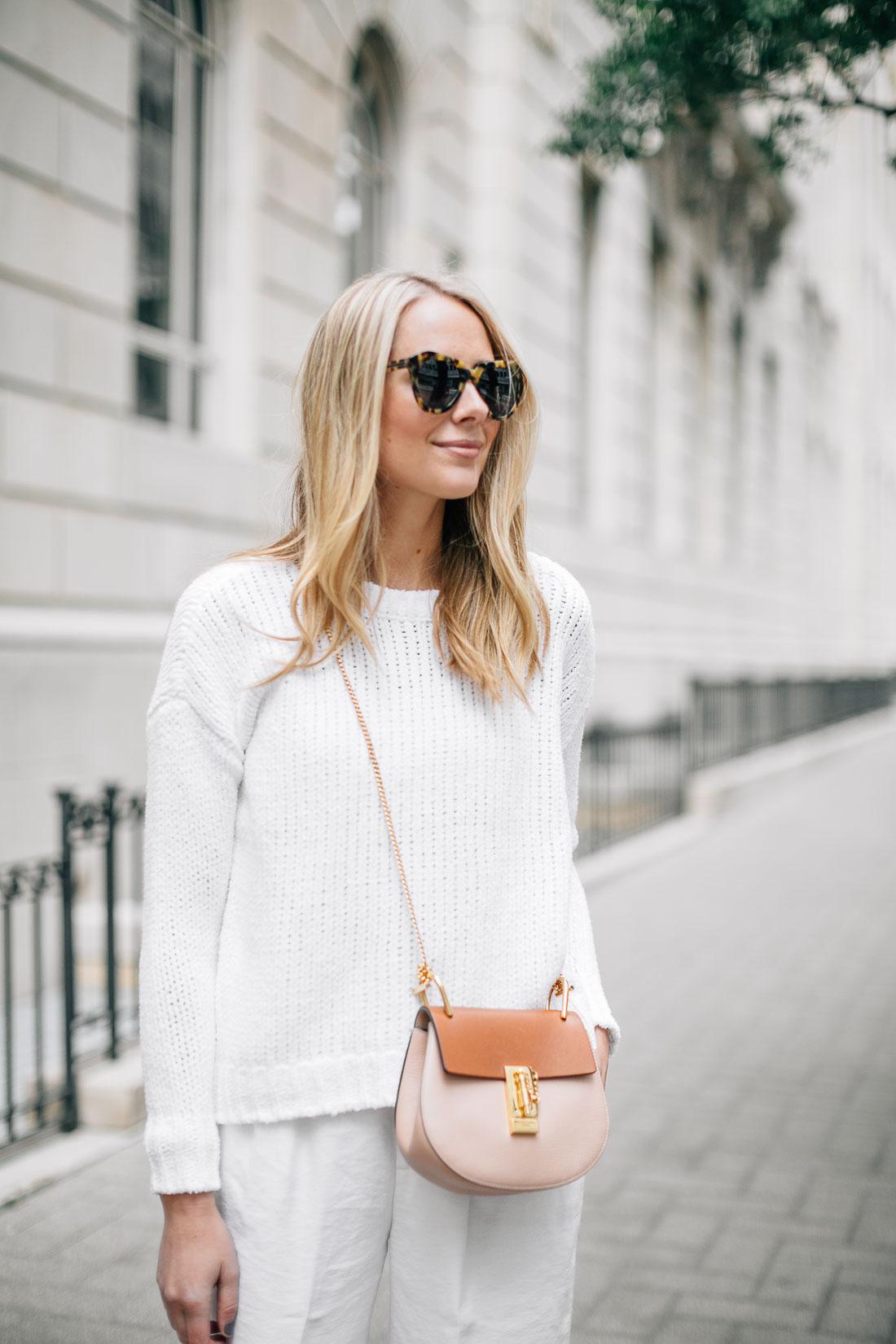 fashion-jackson-tortoise-sunglasses-chloe-drew-handbag-white-sweater