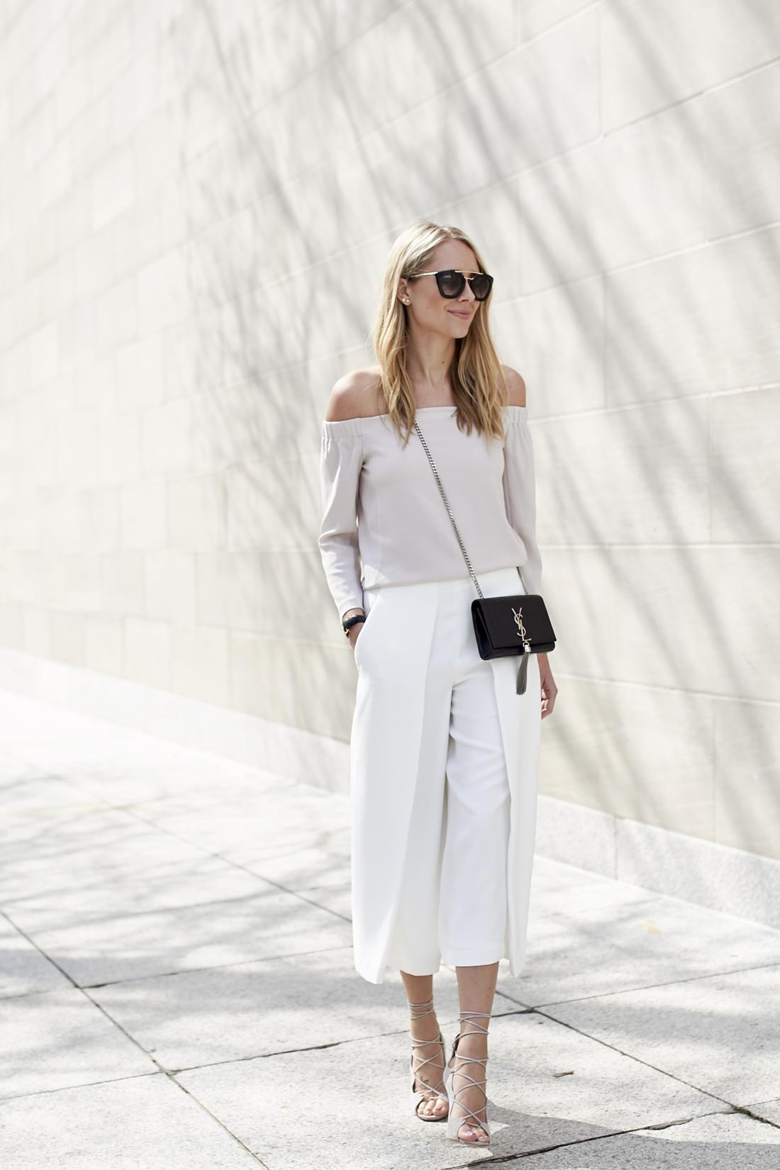 fashion-jackson-white-culottes-mgemi-marea-lace-up-heels-off-the-shoulder-top-prada-retro-sunglasses-saint-laurent-monogram-crossbody