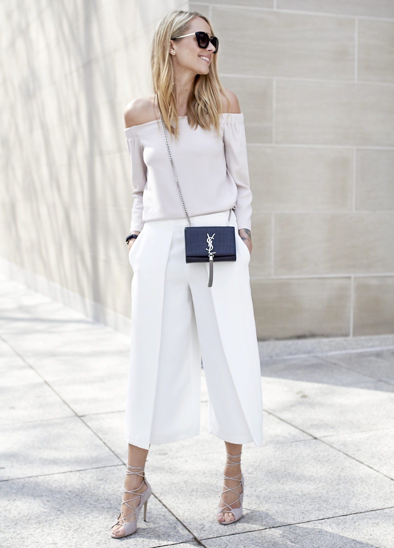 fashion-jackson-white-culottes-mgemi-marea-lace-up-heels-off-the-shoulder-top-saint-laurent-monogram-crossbody