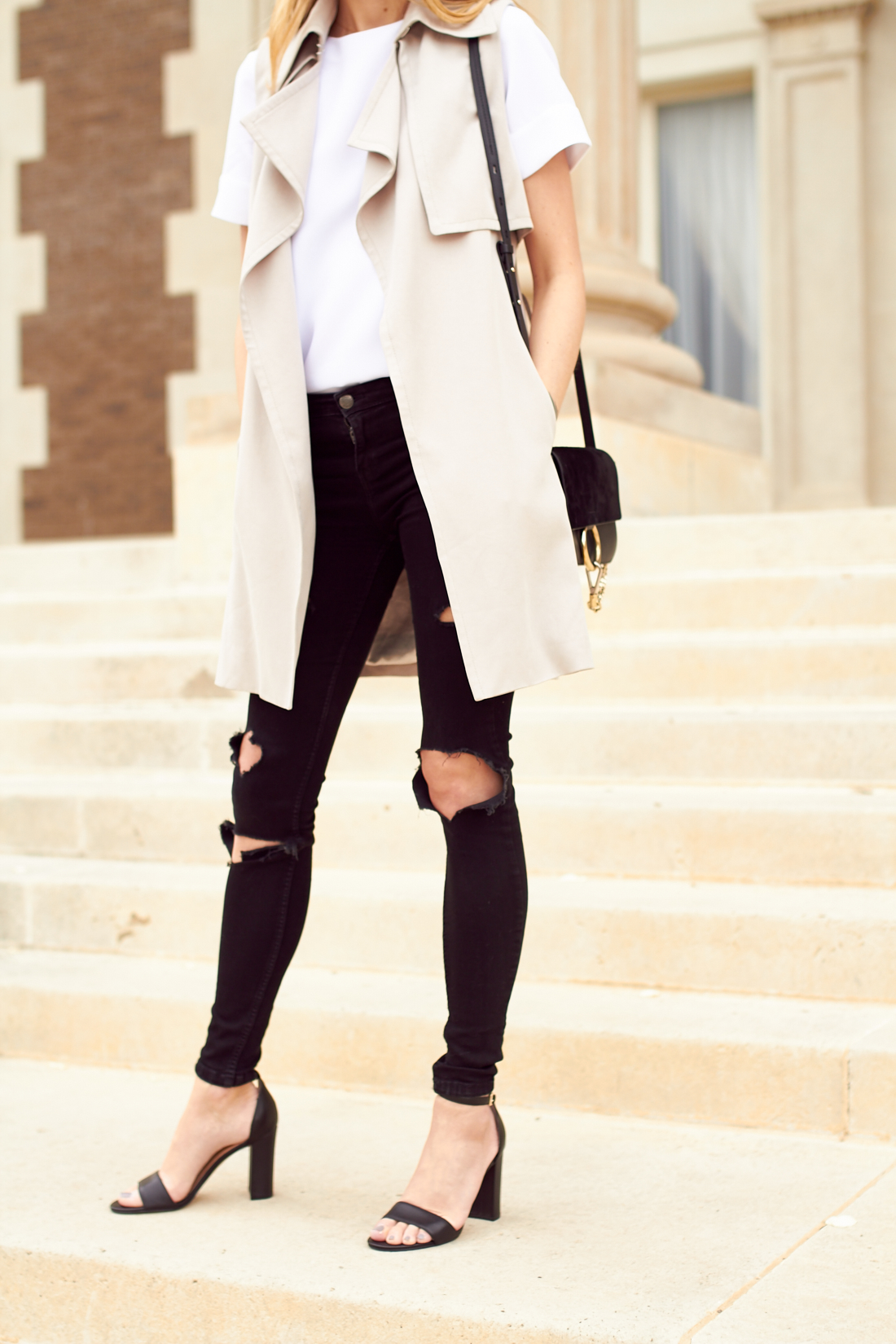 The Trench Vest Fashion Jackson
