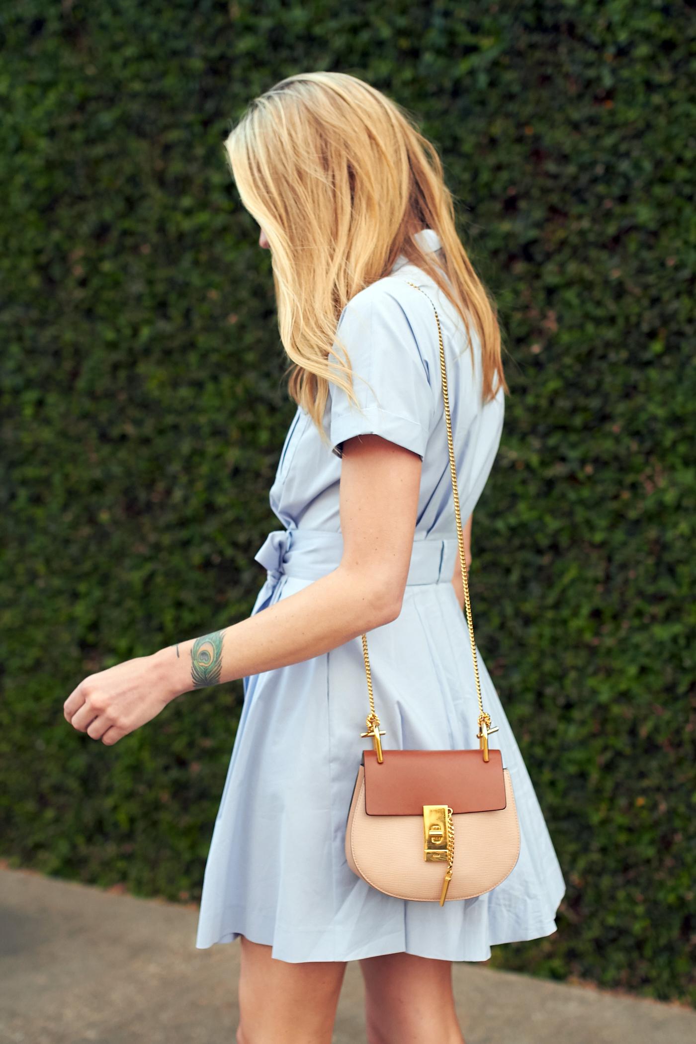 fashion-jackson-chloe-drew-handbag-nordstrom-blue-shirtdress