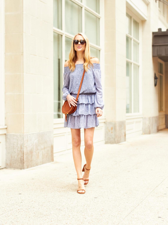 fashion-jackson-michael-kors-sunari-off-the-shoulder-dress-stuart-weitzman-sandals-chloe-marcie-handbag