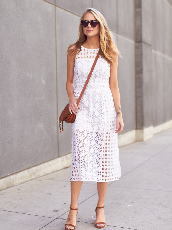 fashion-jackson-olivia-palermo-patchwork-lace-midi-dress-chloe-marci-handbag-karen-walker-sunglasses-stuart-weitzman-nearlynude-ankle-strap-sandals