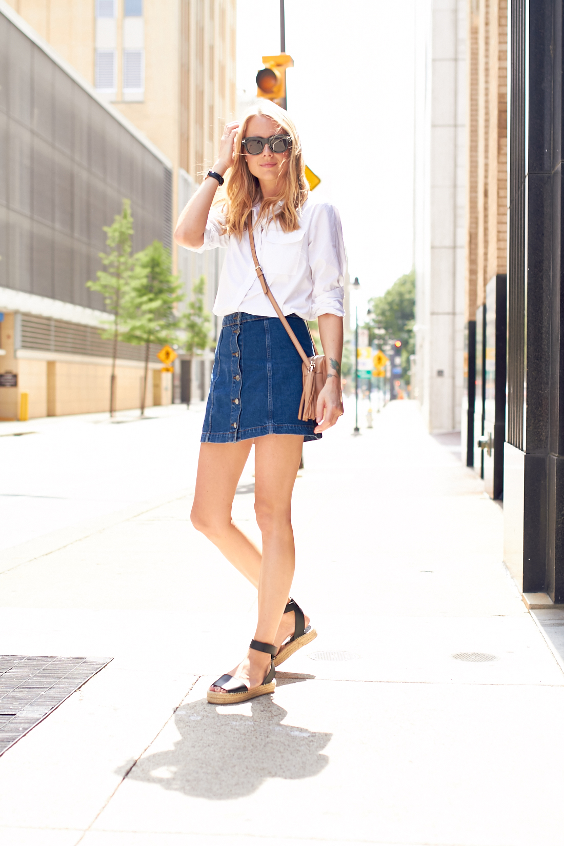 Stretch Denim A-Line Mini Skirt: Asymmetrical Edition $ Top Rated High-Waist Snap Skirt $ Embroidered Drawstring Circle Skirt in Summer Friday $ $ A-Line Zip Skirt $ $ Top Rated Stretch Denim Straight Mini Skirt in Lunar Wash: Step-Hem Edition $