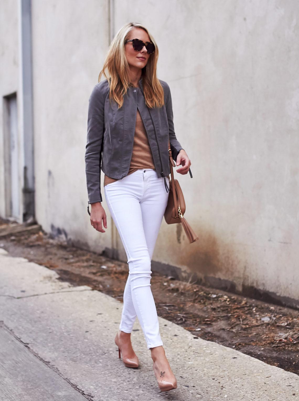 fashion-jackson-free-people-grey-faux-leather-jacket-james-jeans-white-skinny-jeans-louboutin-nude-pumps-camel-sweater-tortoise-sunglasses