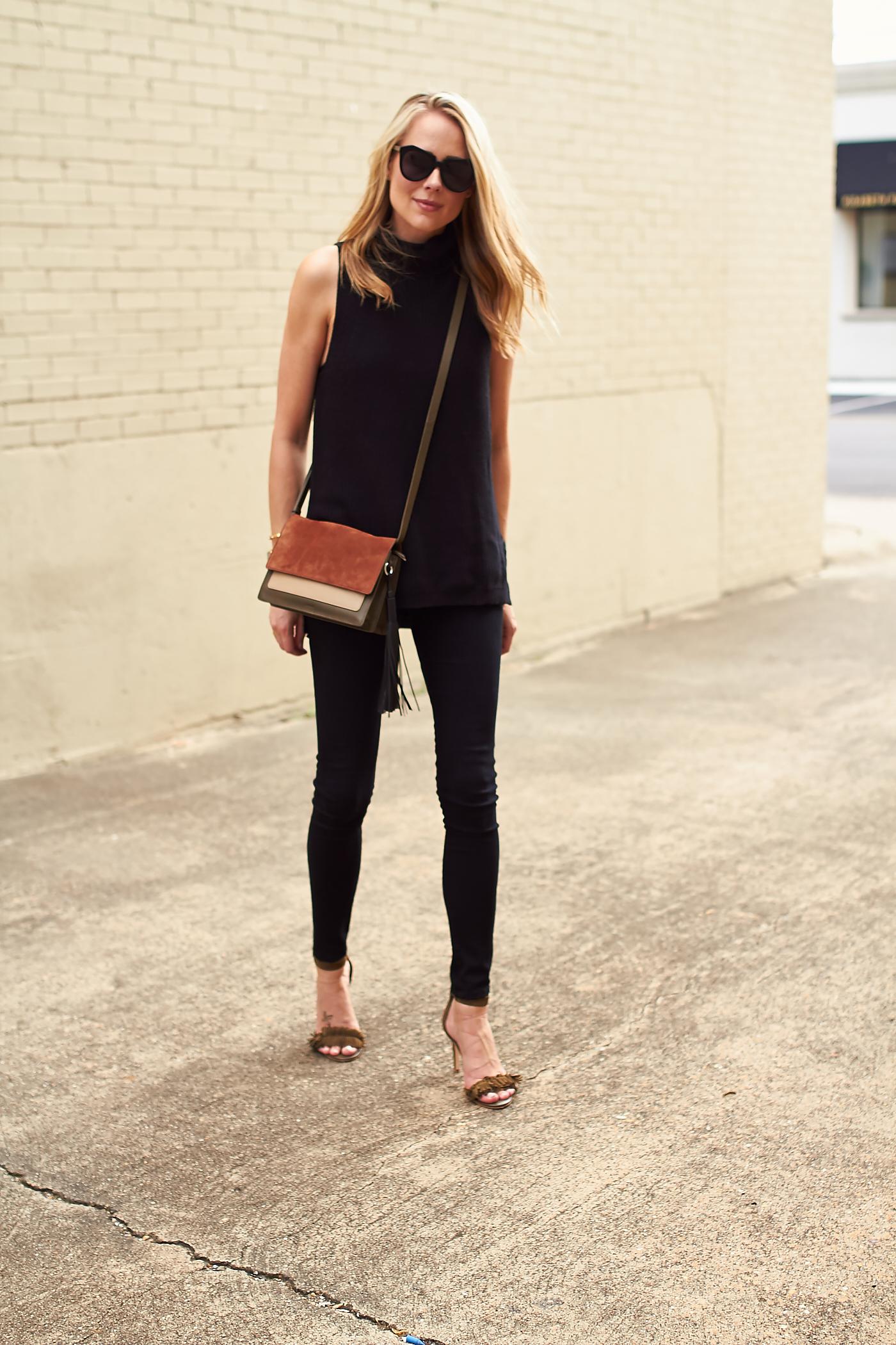Colorblock Leather Amp Suede Handbag Fashion Jackson