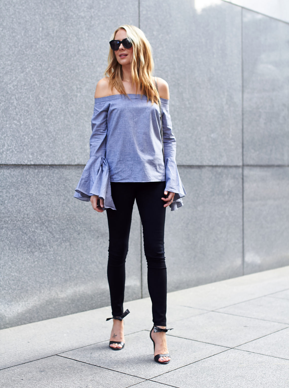 fashion-jackson-bell-sleeve-off-the-shoulder-top-black-skinny-jeans-black-bow-heels