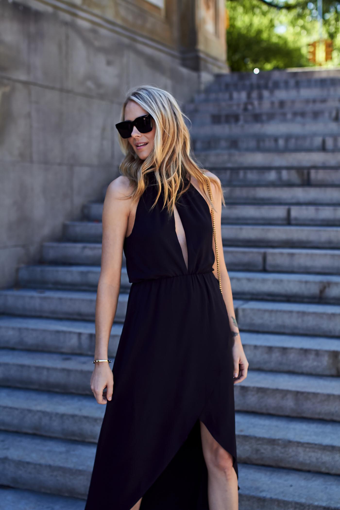 fashion-jackson-black-celine-sunglasses-black-high-low-hem-dress