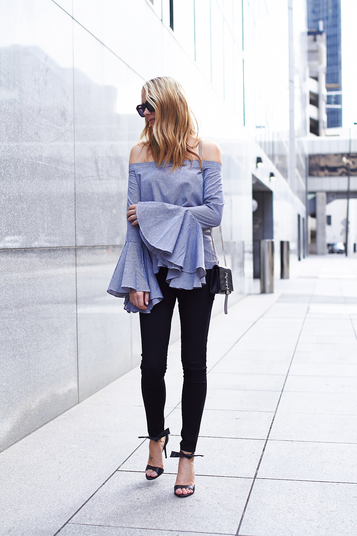 fashion-jackson-chicwish-bell-sleeve-off-the-shoulder-top-black-skinny-jeans-black-bow-heels