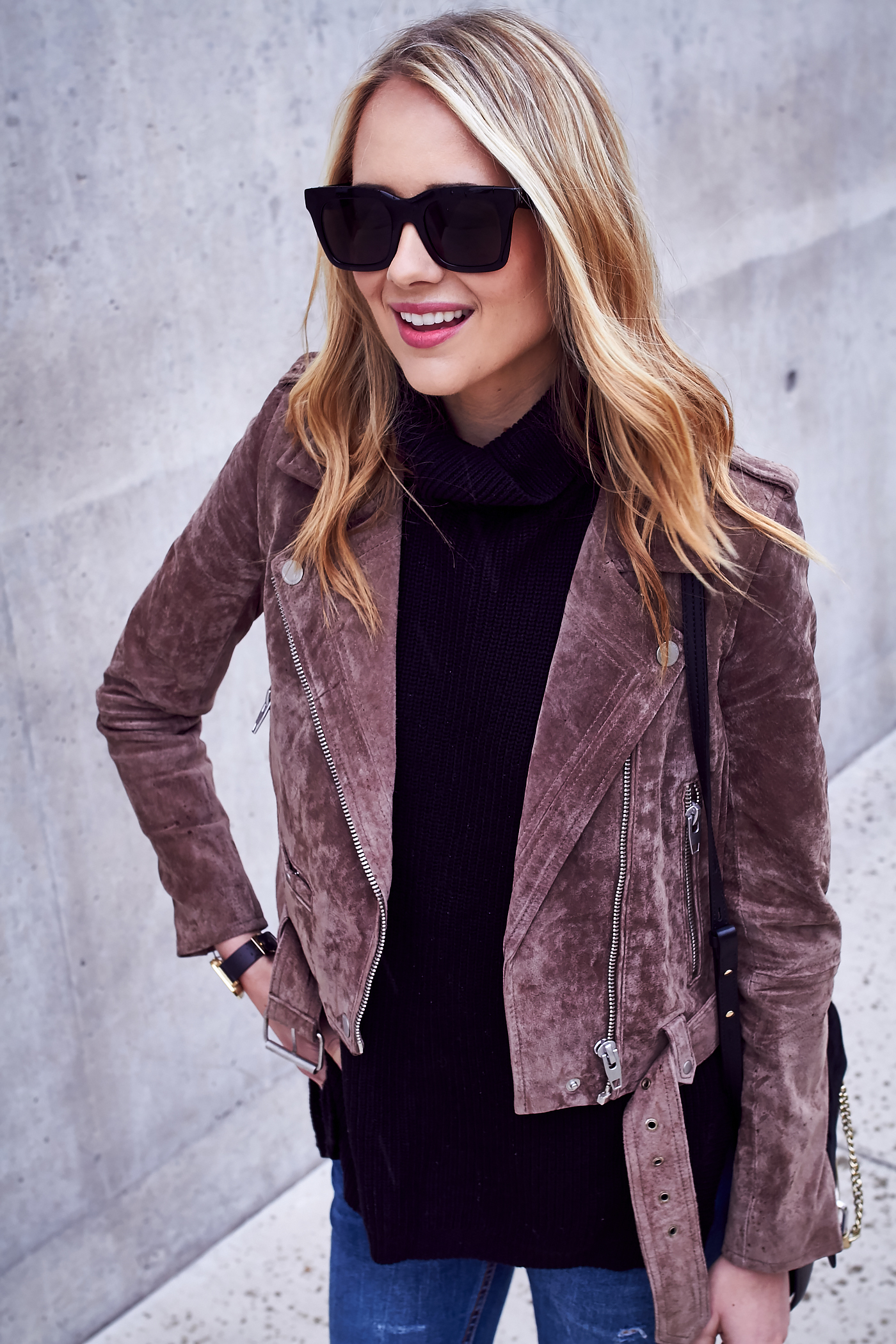 How To Wear A Suede Moto Jacket Fashion Jackson
