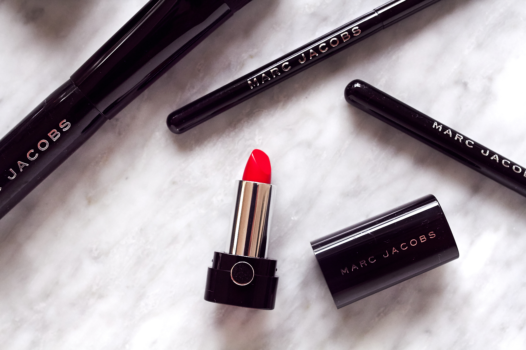 Marc Jacobs Red Lipstick, Beauty