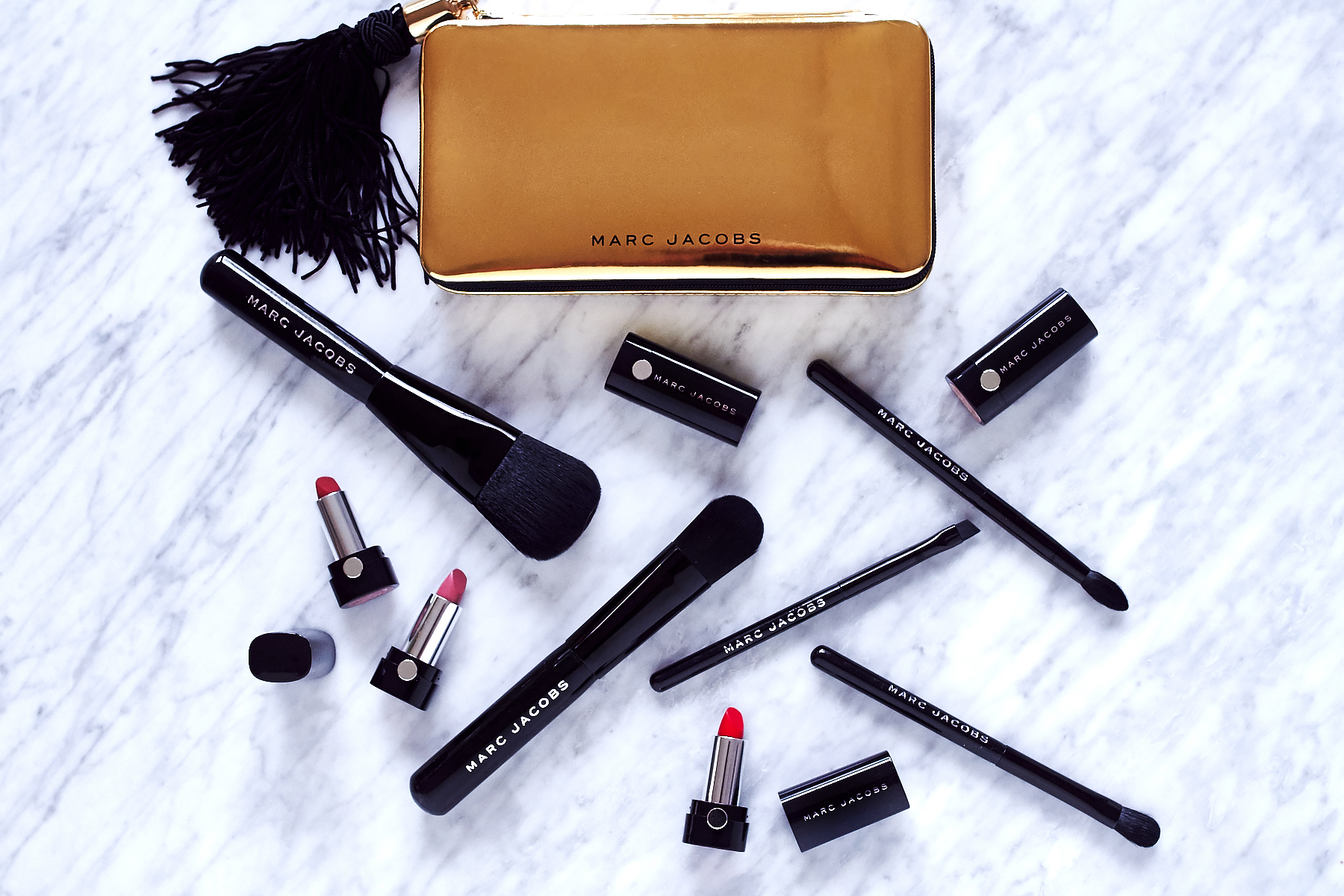 Marc Jacobs Lipsticks, Marc Jacobs Makeup Brushes, Beauty