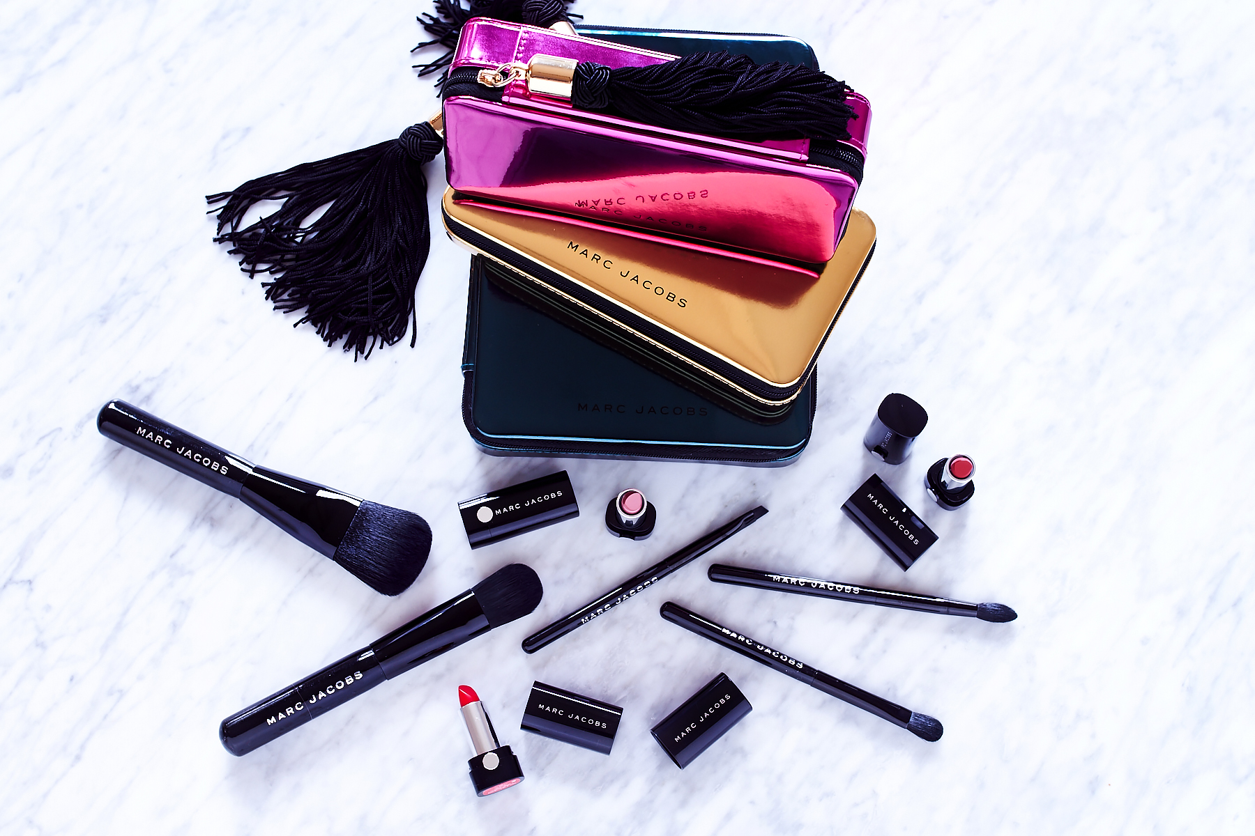 Marc Jacobs Lipstick, Marc Jacobs Makeup Brushes, Beauty