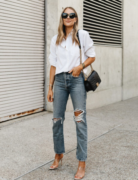 7 Chic Ways to Wear A Button Up Shirt