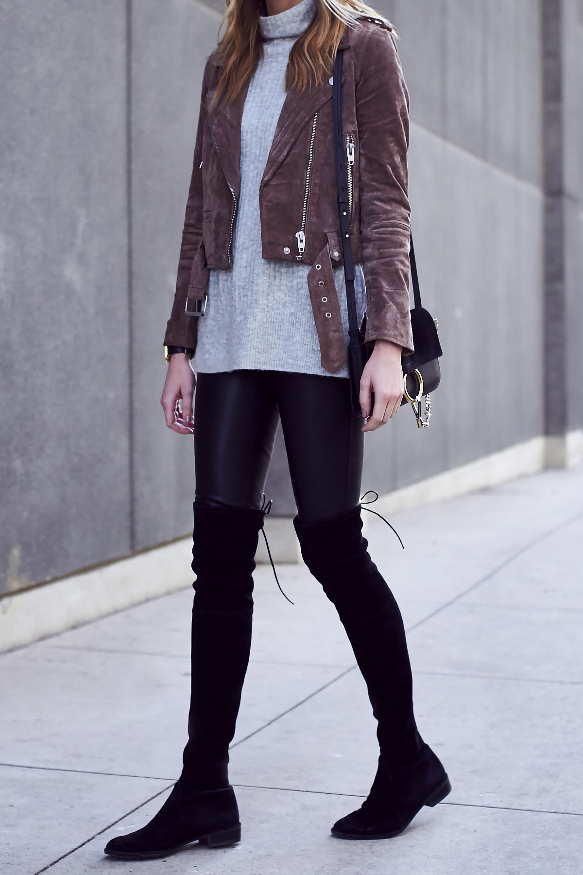 Closet Staple A Suede Moto Jacket Fashion Jackson