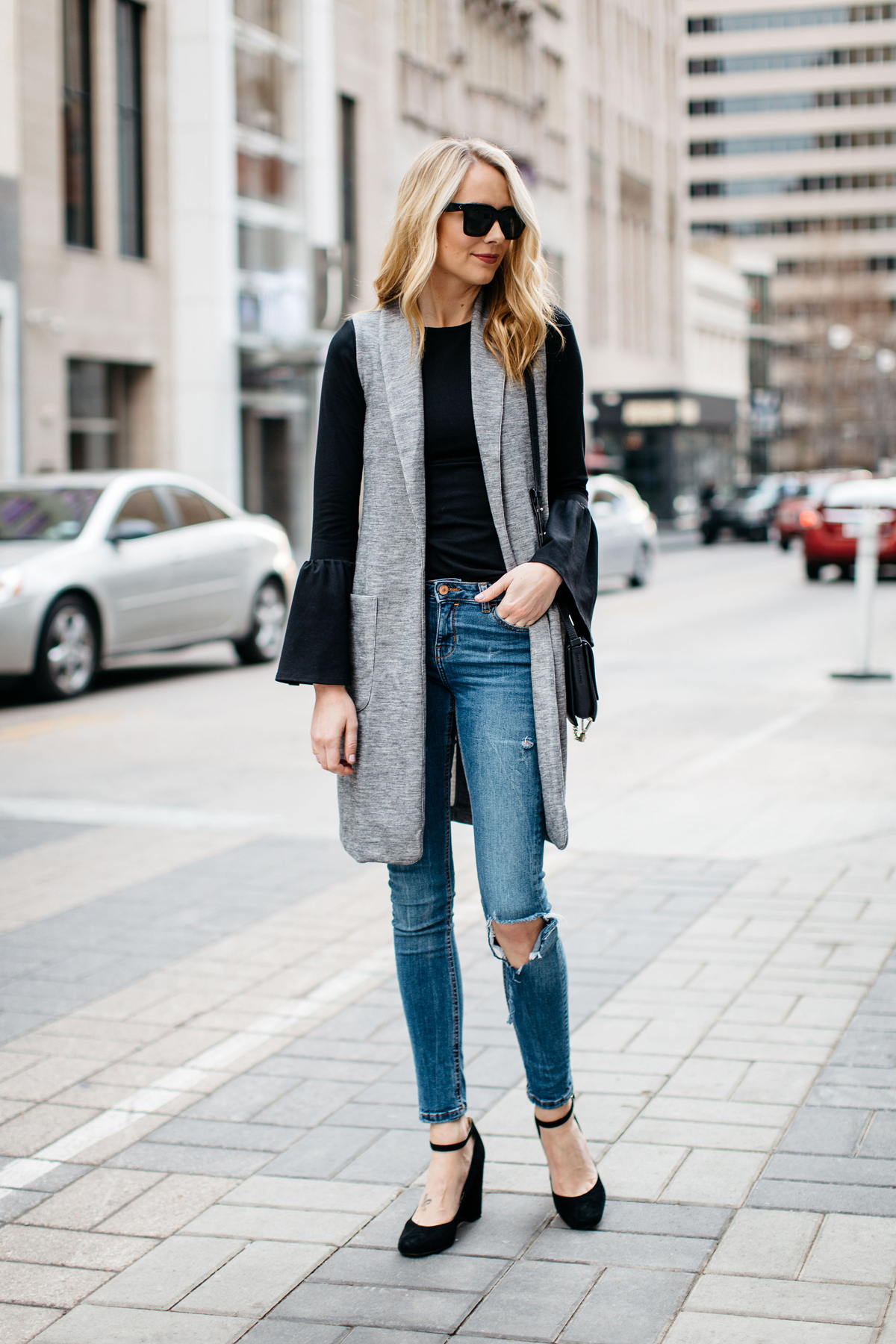 HOW TO WEAR A LONG VEST THIS SEASON | Fashion Jackson